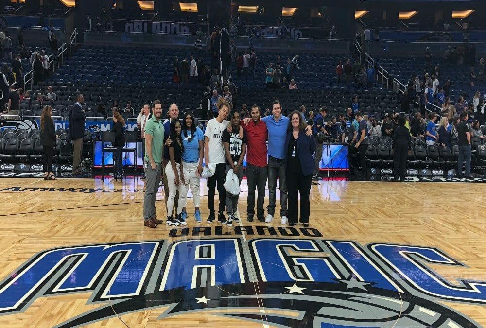 March 2, 2018 Orlando Magic Basketball Game