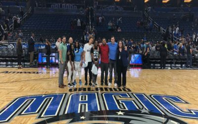 March 2, 2018 Orlando Magic Basketball Game