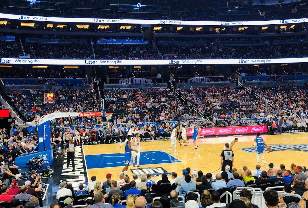 March 14, 2019 Orlando Magic Game